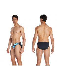speedo endurance+ badehose brief digital herren