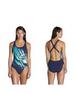 speedo schwimmanzug damen powerback ignitor