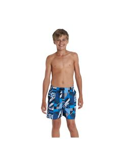 Speedo watershorts kinder printed leisure blau