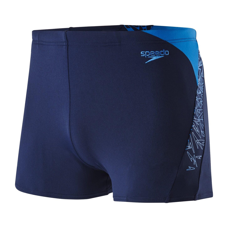 Speedo Badehose Aquashort Herren blau