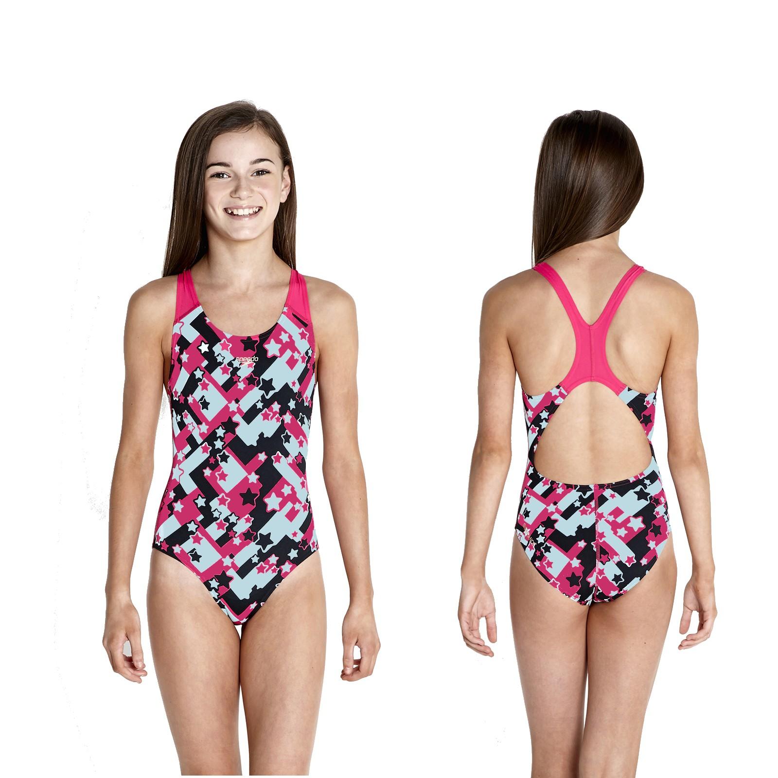 speedo badeanzug schwimmanzug sterne