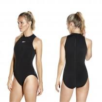 speedo hydrasuit badeanzug schwarz
