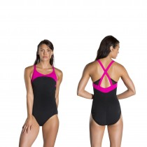 speedo badeanzug speedofit  power form xback