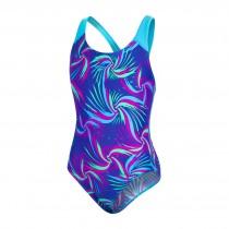 blauer speedo badeanzug mädchen