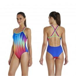 speedo schwimmanzug damen xback