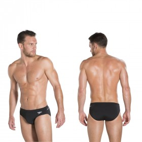 Speedo Badehose brief schwarz