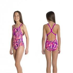 Badeanzug Speedo Mädchen Kinder Rippleback