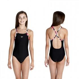 Speedo Badeanzug Mädchen Sterne