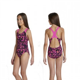 Speedo Badeanzug Mädchen Kinder Splashback