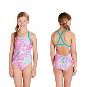 Badeanzug Speedo Mädchen Kinder X-back