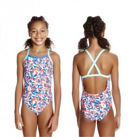 Badeanzug Speedo Mädchen Kinder Xback