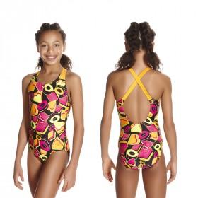 Badeanzug Speedo Mädchen Kinder X-over