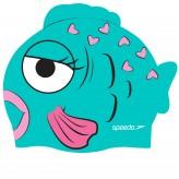 Speedo Badekappe Silikon Fischflosse Kinder
