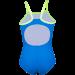 mädchen badeanzug speedo blau